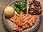 Ziti with Rose' Sauce